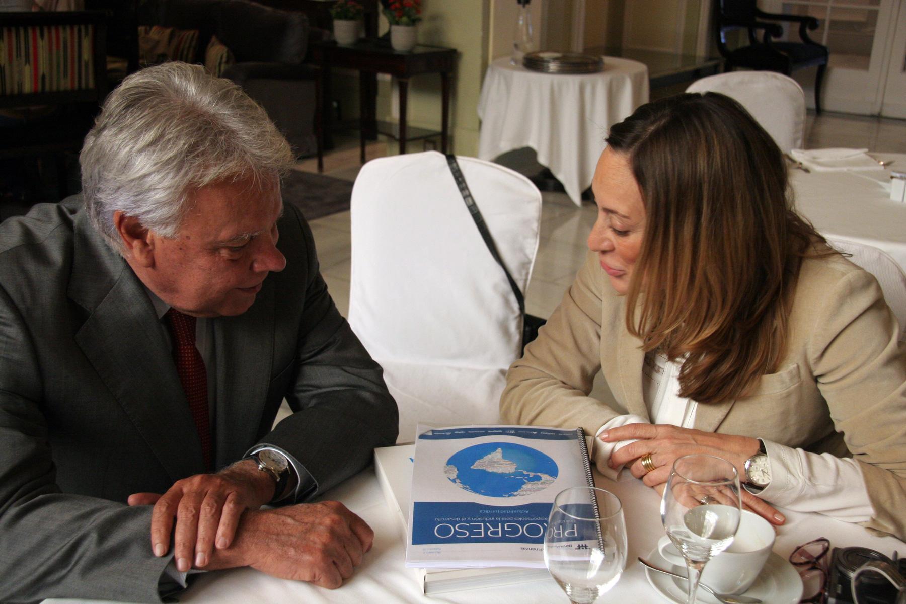 Entrevistando a Felipe González